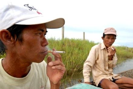 Chùm ảnh: Cào hến trên phá Tam Giang - 9