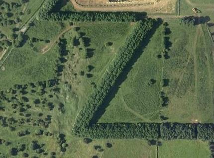 Chùm ảnh: Bảng chữ cái khổng lồ nhìn từ trên không - 26
