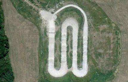 Chùm ảnh: Bảng chữ cái khổng lồ nhìn từ trên không - 14