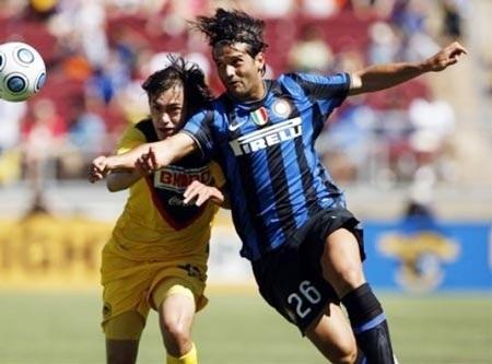 Inter gục ngã trước CF America tại trận mở màn  - 1