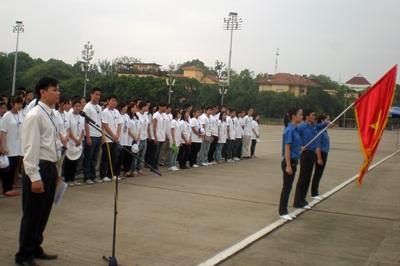 Thanh niên Việt kiều 30 nước về dự trại hè  - 1