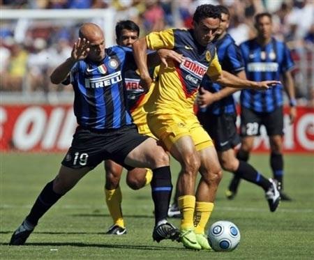 Inter gục ngã trước CF America tại trận mở màn  - 2