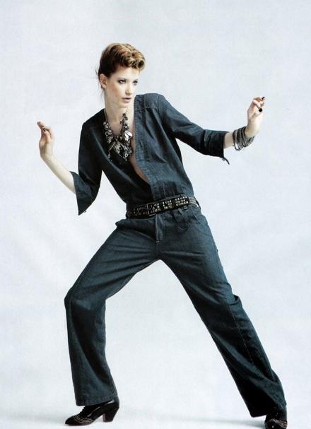 Milagros Schmoll: Bay bổng với đồ Jeans - 8