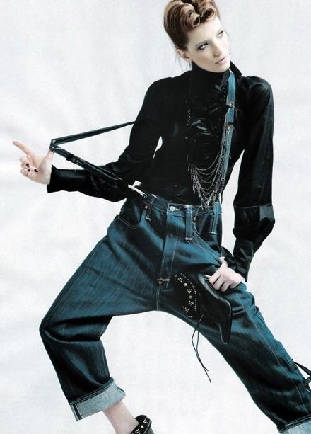 Milagros Schmoll: Bay bổng với đồ Jeans - 4