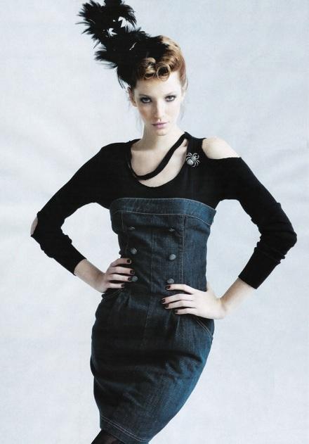 Milagros Schmoll: Bay bổng với đồ Jeans - 3