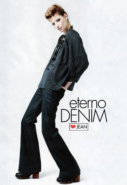 Milagros Schmoll: Bay bổng với đồ Jeans - 2
