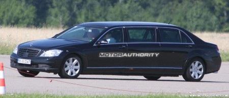 Phiên bản mới của S-Class limousine trên đường thử - 2
