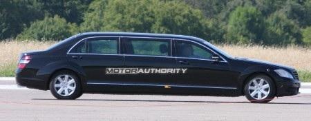 Phiên bản mới của S-Class limousine trên đường thử - 5