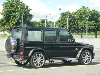 """Chiếc Mercedes G55 AMG """"độ"""" cho Hoàng tử Abu Dhabi  - 3"""