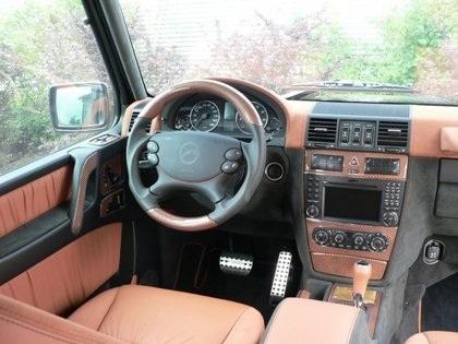 """Chiếc Mercedes G55 AMG """"độ"""" cho Hoàng tử Abu Dhabi  - 6"""
