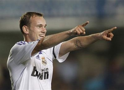 Real Madrid thách giá Sneijder đến 25 triệu euro với Inter - 1