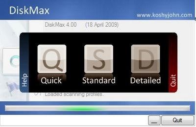 Dọn dẹp và tăng tốc hệ thống với DiskMax - 1