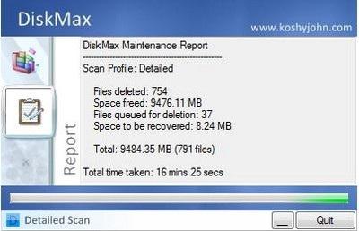 Dọn dẹp và tăng tốc hệ thống với DiskMax - 3