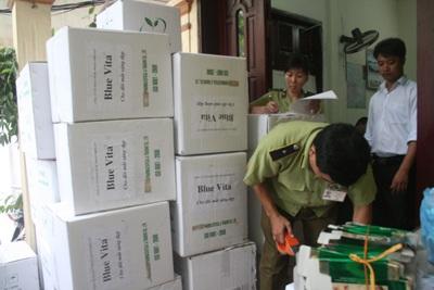 """Tạm giữ hơn 6.000 hộp thực phẩm chức năng """"nhái"""" dược phẩm    - 1"""