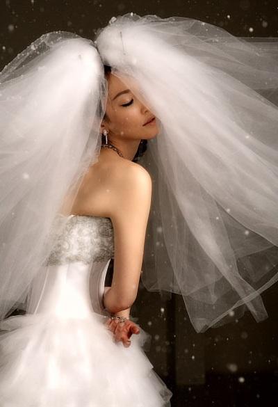 Cô dâu Phạm Văn Phương tự tay thiết kế nữ trang cưới - 2