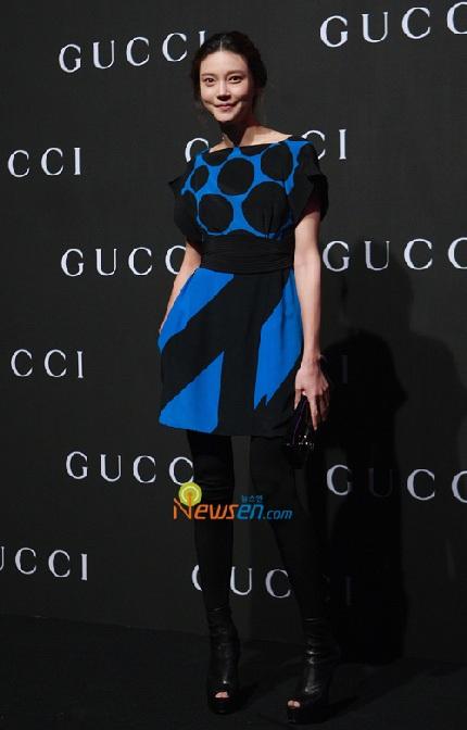 """""""Sao"""" Hàn đua sắc tại buổi trình diễn của Gucci - 11"""
