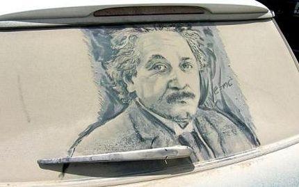 Biến ô tô phủ bụi thành tác phẩm nghệ thuật - 14