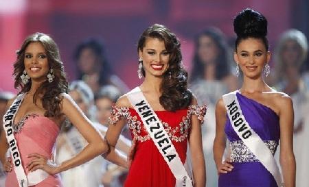Xem lại đêm thi sôi động của Hoa hậu Hoàn vũ 2009 - 47