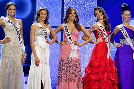 Xem lại đêm thi sôi động của Hoa hậu Hoàn vũ 2009 - 41