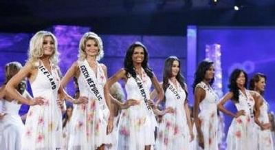 Xem lại đêm thi sôi động của Hoa hậu Hoàn vũ 2009 - 3