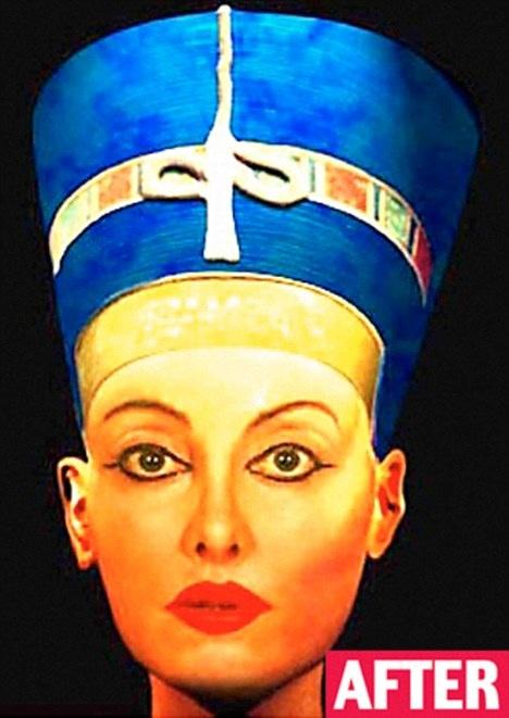 Người phụ nữ và 51 cuộc phẫu thuật để trở thành Nữ hoàng Ai Cập - 3