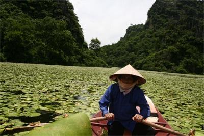 Chùm ảnh: Vẻ đẹp hoang sơ của hồ Quan Sơn - 5
