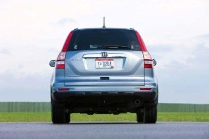 Honda công bố giá xe CR-V phiên bản 2010 - 16