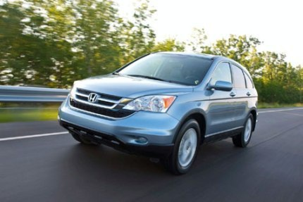 Honda công bố giá xe CR-V phiên bản 2010 - 8