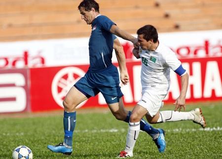 Thua Singapore, Turkmenistan trở thành cựu vô địch - 1