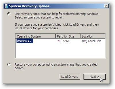 """Tạo CD khôi phục trước khi """"vọc"""" Windows 7 - 4"""