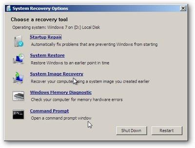 """Tạo CD khôi phục trước khi """"vọc"""" Windows 7 - 5"""