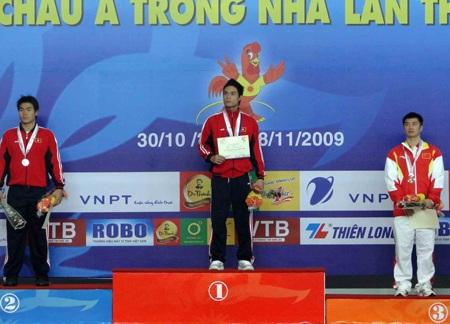 Đội tuyển lặn góp 1 HCV vào thành tích đoàn Việt Nam  - 1