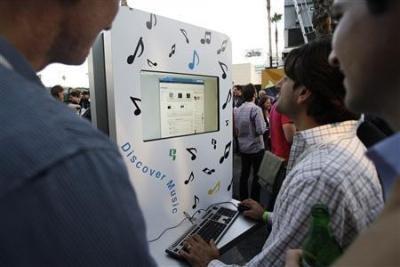 Google lấn sân sang âm nhạc trực tuyến - 1