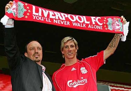 Benitez dọa ra đi nếu Liverpool bán Torres - 1
