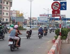 Phân luồng giao thông nút La Thành và Kim Ngưu  - 1