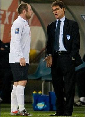 "Rooney ""sợ"" Capello hơn Alex Ferguson - 1"