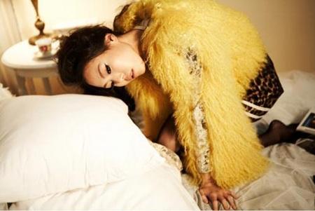 """Chùm ảnh: Kim Min Hee """"quậy"""" trên Céci - 2"""