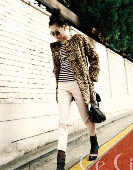 """Chùm ảnh: Kim Min Hee """"quậy"""" trên Céci - 9"""