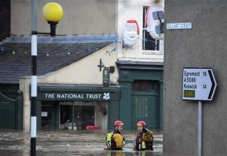 Ngập lụt hoành hành nước Anh - 5