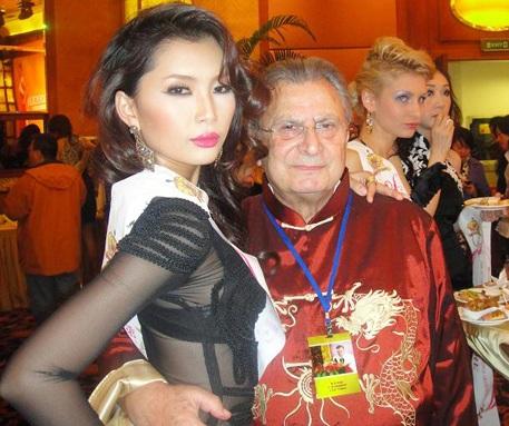 Lan Hương nổi bật trong cuộc thi Người mẫu thế giới  - 10