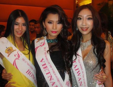 Lan Hương nổi bật trong cuộc thi Người mẫu thế giới  - 1
