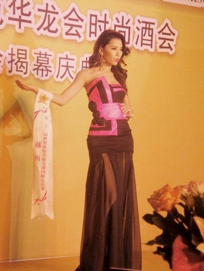 Lan Hương nổi bật trong cuộc thi Người mẫu thế giới  - 3