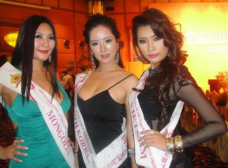 Lan Hương nổi bật trong cuộc thi Người mẫu thế giới  - 4