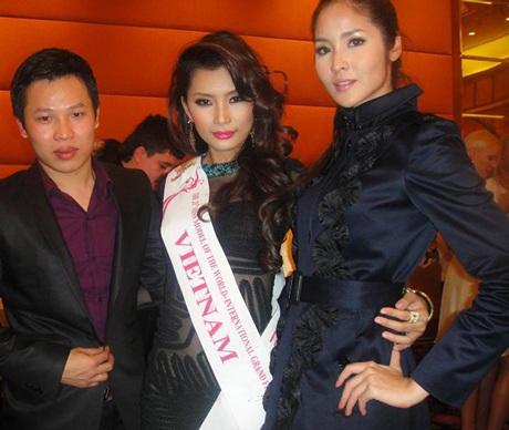 Lan Hương nổi bật trong cuộc thi Người mẫu thế giới  - 5