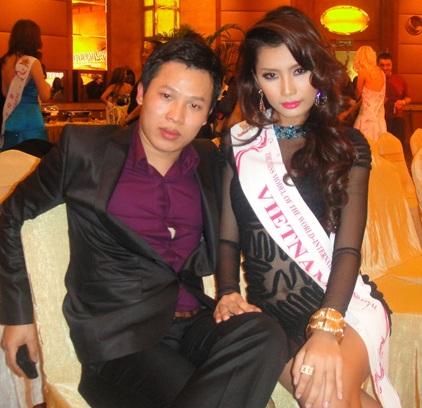 Lan Hương nổi bật trong cuộc thi Người mẫu thế giới  - 6