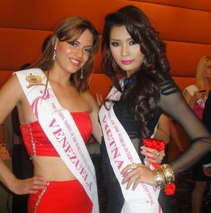 Lan Hương nổi bật trong cuộc thi Người mẫu thế giới  - 7