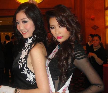 Lan Hương nổi bật trong cuộc thi Người mẫu thế giới  - 9