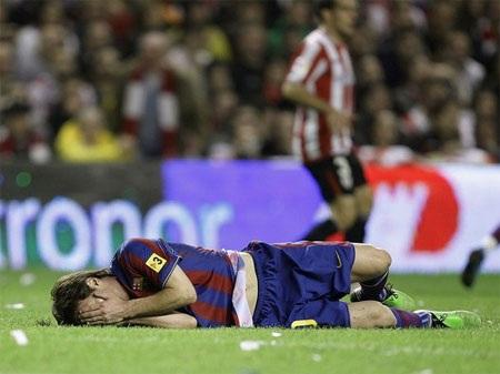 Messi có thể hồi phục trước trận chiến với Inter - 1