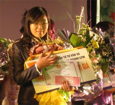 Lưu Hồng Anh giành danh hiệu ứng viên tài năng nhất - 2