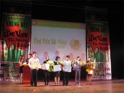 Lưu Hồng Anh giành danh hiệu ứng viên tài năng nhất - 1